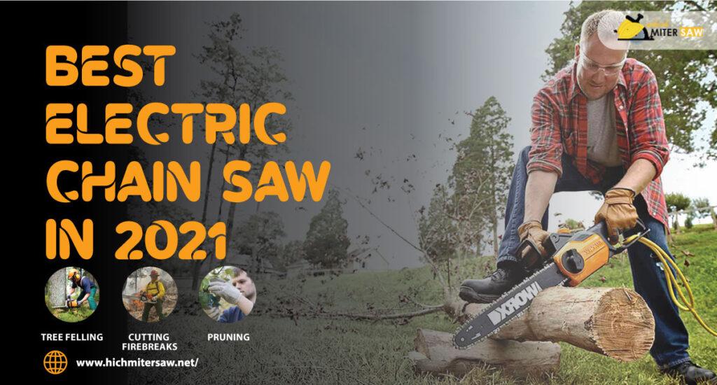 Electric-chain-saw